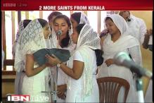 Pope to confer sainthood on two blessed from Kerala on Monday