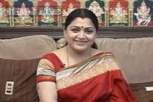 Joined Congress because of my sensibilities: Kushboo