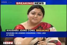 Actress Khushbu joins Congress, praises party on secularism