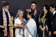 Bachchan family, SRK, Bollywood fire-up the opening ceremony of Kolkata film festival