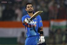 Virat Kohli rises to No.2 in ICC ODI rankings