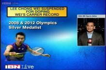 BWF suspends shuttler Lee Chong Wei over doping violation
