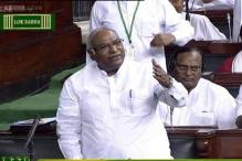Though not the Leader of Opposition in Lok Sabha, Congress MP Kharge given LoP seat