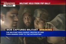 J&K: Suspected terrorist hurls grenade at PDP rally, taken into custody
