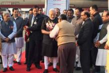 PM Modi arrives in Delhi after his 10-day three nation tour