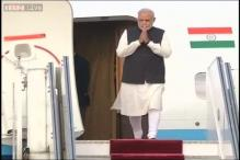 Modi reaches Kathmandu for SAARC summit, to hold bilateral talks with Nepalese PM