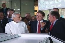 Live: Modi visits Queensland University in Australia