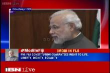 India, Fiji sign 3 agreements, PM Modi announces visa on arrival facility