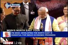 On his northeast visit, PM Modi flags off first train to Meghalaya