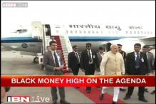 Modi embarks on trip to Myanmar, Australia, Fiji; black money high on agenda