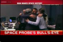 Scientists at European Space Agency ecstatic after Philae makes successful landing on comet