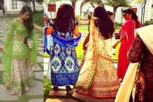 Photos: Bride Arpita Khan snapped hours before her wedding