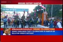 Watch: Preparations underway for Mulayam's grand birthday celebrations