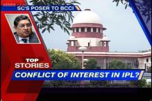 News 360: SC slams BCCI over Srinivasan's conflict of interest