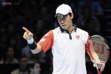 Kei Nishikori downs Andy Murray at ATP Finals