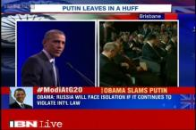 Russia is providing heavy arms to the separatists in Ukraine: Barack Obama