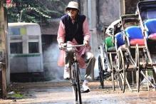 Amitabh Bachchan's varied moods during 'Piku' shoot in Kolkata