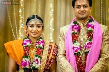 South Indian actress Padamapriya marries her old friend