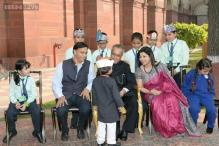 President gives awards to 20 children for exceptional achievement