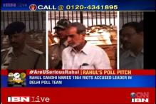 1984 Riots accused in Rahul team: Is this a self-goal?