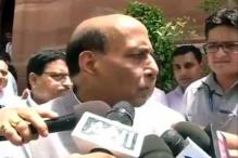 Rajnath lauds high voter turnout in Kashmir, Jharkhand