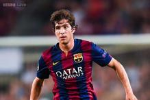 Champions League: Barcelona midfielder Sergi Roberto ruled out of Ajax game