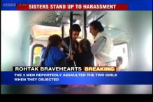 Haryana: Two sisters stand up to harassment, thrash three molesters with belts in a moving bus