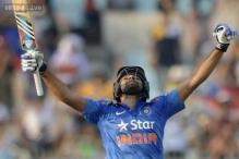 Hitman Rohit Sharma scores historic ODI double century