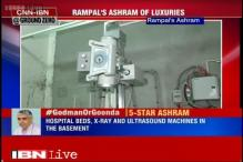 Advanced medical equipment found inside self-styled godman Rampal's ashram