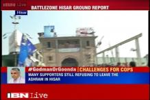 MHA to send paramilitary forces to Hisar, attempts to arrest 'godman' Rampal in vain