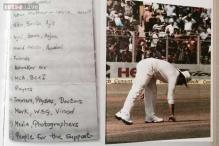 13 points Sachin Tendulkar jotted down for his farewell speech