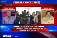 There is no proposal for an alliance with the BJP yet, says Sajjad Lone