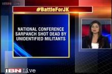 Terrorists gun down National Conference sarpanch in Kashmir