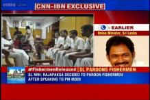 Indian fishermen released: Sri Lanka says it's a pardon but not a reduction of sentence