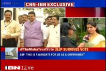 Maharashtra trust vote: Number of 'Yes' voters was more than the 'No', says Shaina NC