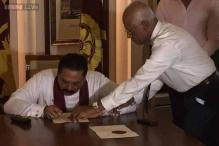 Srilankan President Rajapaksa declares snap polls to his post, seeks third term