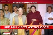 Smriti Irani fumes as media has a field day over her visit to astrologer