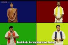 Watch: Stop calling all south Indians Madrasis! This video serves as a guide for Indians to distinguish between the different south Indian states