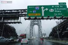 New York: East Coast storm hampers Thanksgiving travel