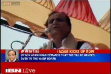Centre doing injustice to Muslims by not handing over Taj Mahal: Azam Khan