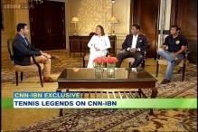 Champions of Tennis: Game's legends on CNN-IBN