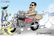 Cartoon of the day: Robert Vadra