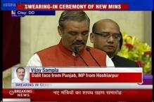 Vijay Sampla, once a plumber becomes a minister in Modi government