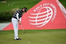 Bubba Watson and Tim Clark in WGC-HSBC Champions playoff