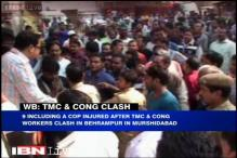 West Bengal: Violent clashes erupt between Congress and TMC workers, 9 injured