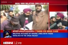 Drug racket case: ABVP protestors demand Bikram Singh Majithia's resignation