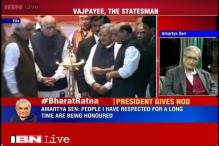 Atal Bihari Vajpayee has contributed a lot to India: Amartya Sen