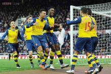 Arsenal beat West Ham 2-1 in Premier League