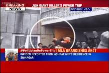 PDP MLA Ashraf Mir fires AK47 to celebrate his win over Omar Abdullah in J&K assembly polls
