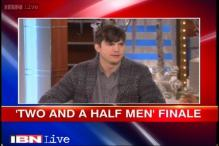 Ashton Kutcher hints at Charlie Sheen's comeback for the 'Two and a Half Men' finale